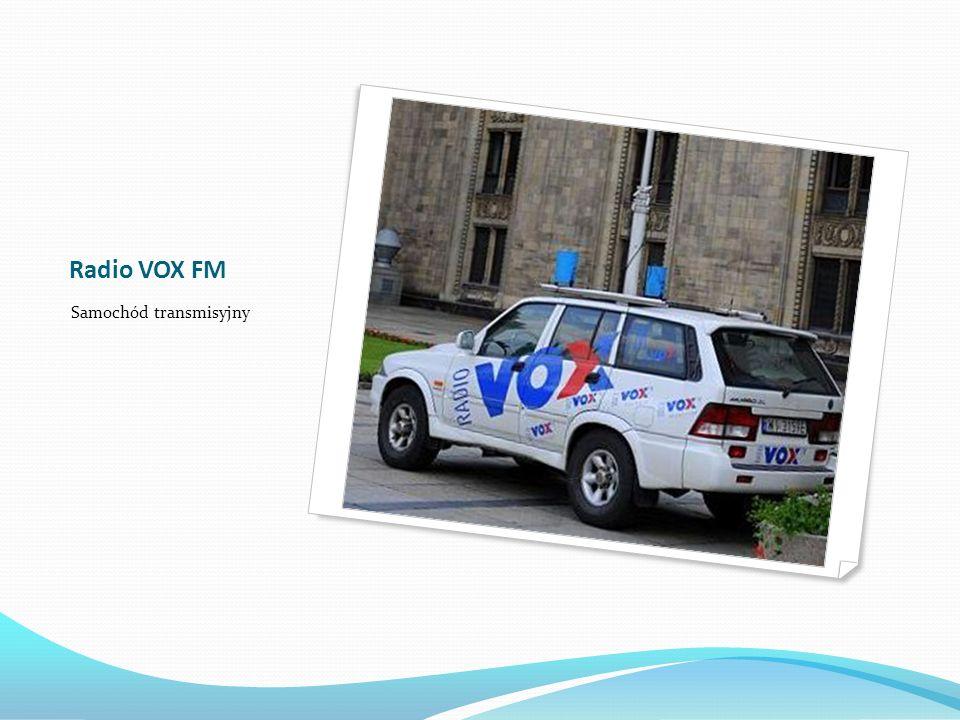 Radio VOX FM Samochód transmisyjny