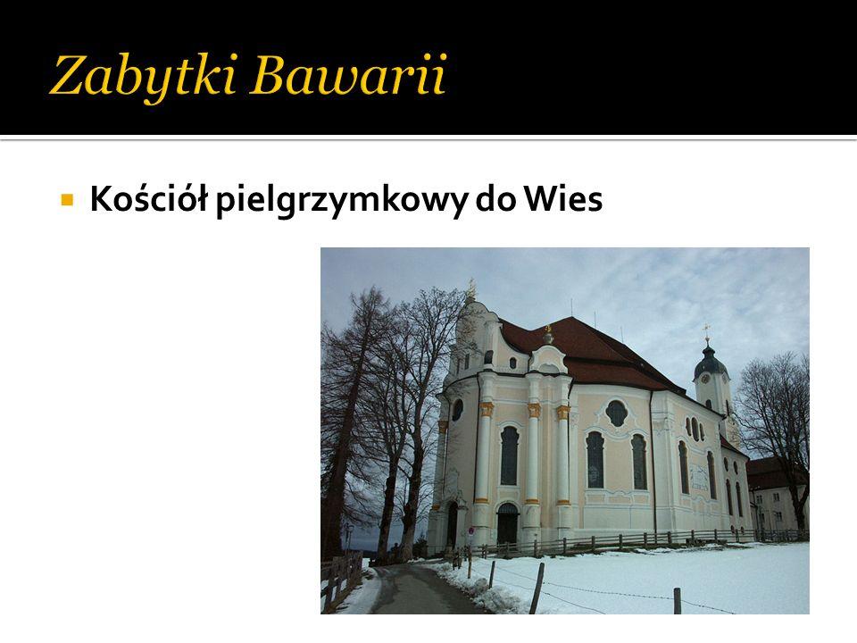 Zabytki Bawarii Kościół pielgrzymkowy do Wies