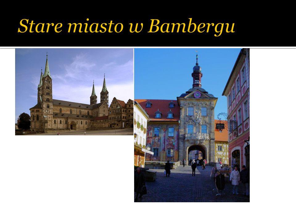 Stare miasto w Bambergu