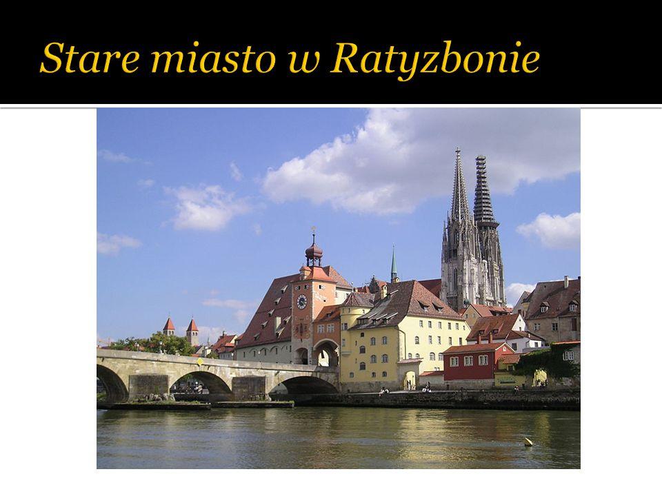 Stare miasto w Ratyzbonie