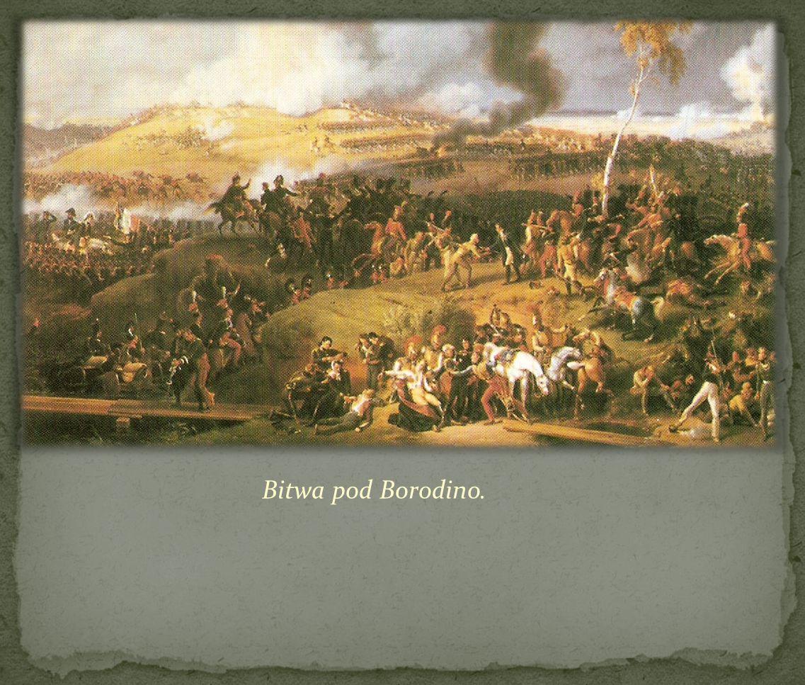 Bitwa pod Borodino.