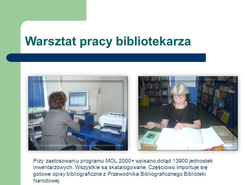Warsztat pracy bibliotekarza