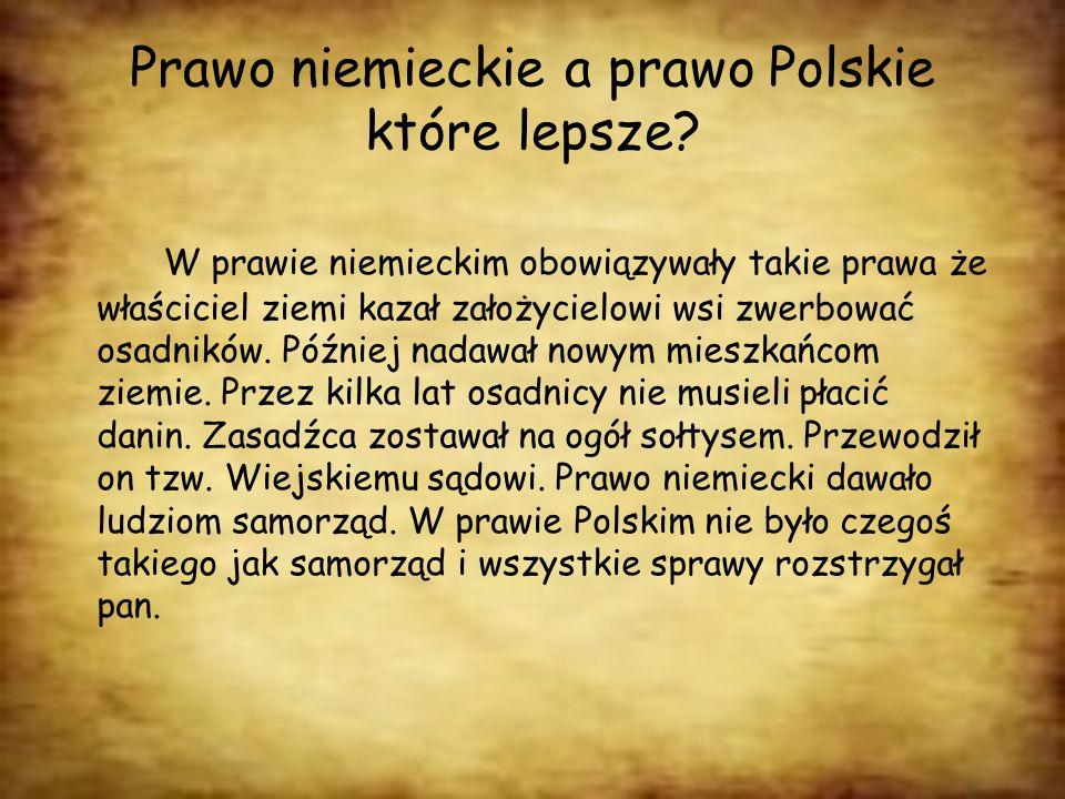 Prawo niemieckie a prawo Polskie które lepsze