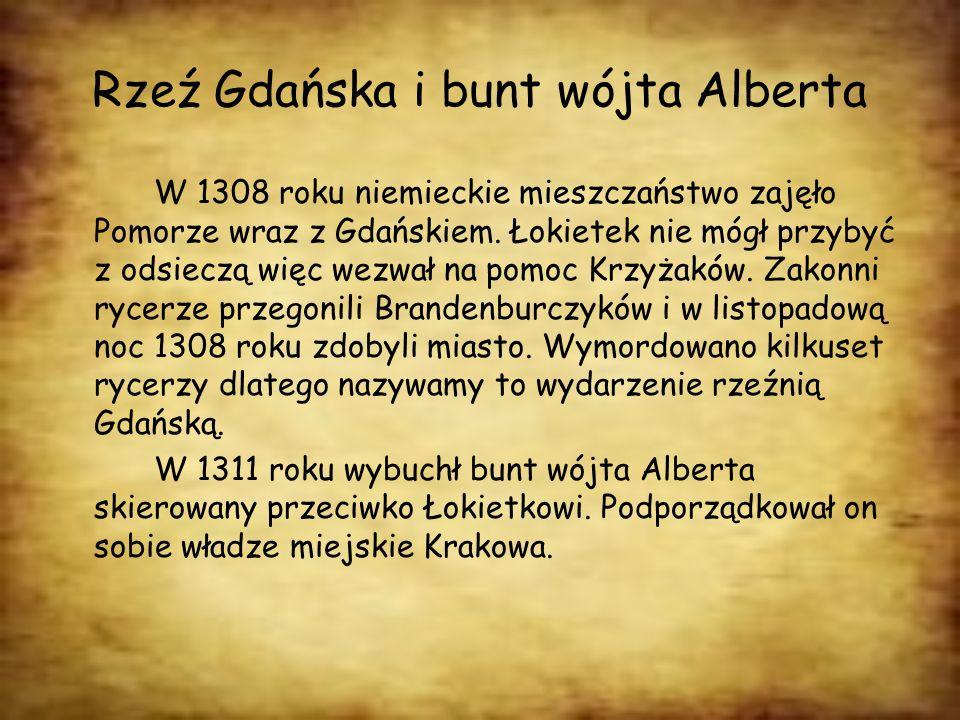 Rzeź Gdańska i bunt wójta Alberta