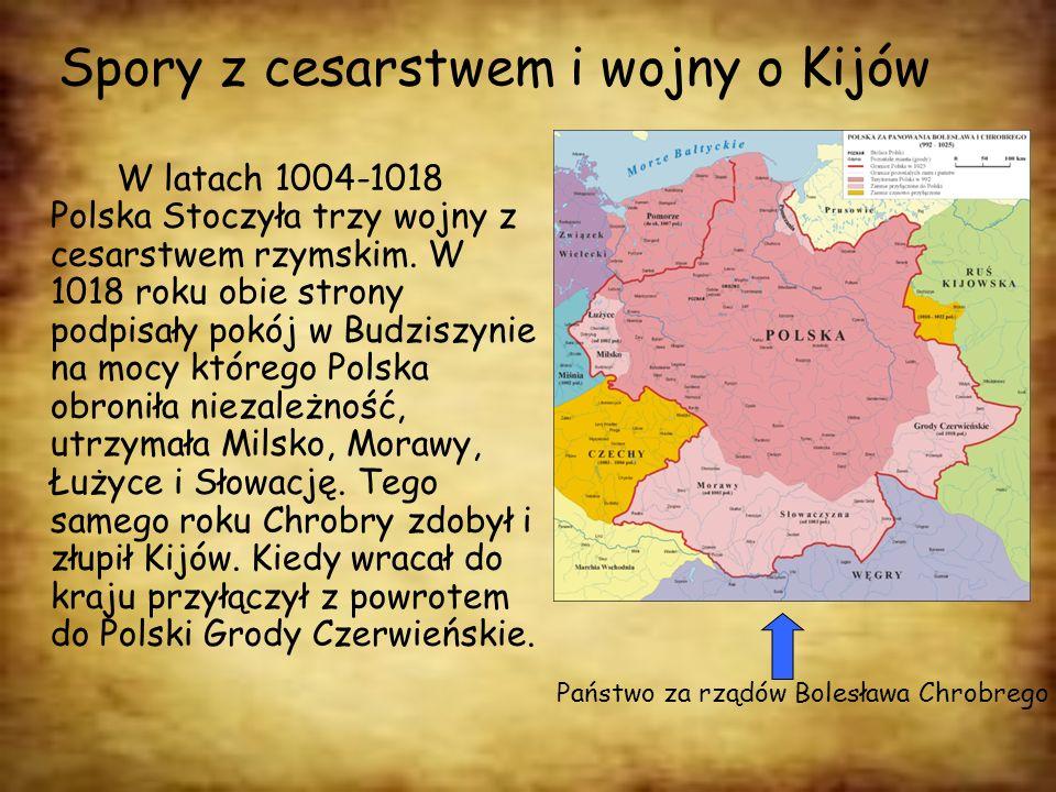 Spory z cesarstwem i wojny o Kijów