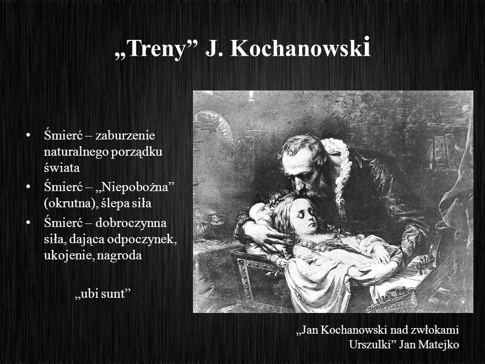 """""""Treny J. Kochanowski Śmierć – zaburzenie naturalnego porządku świata"""