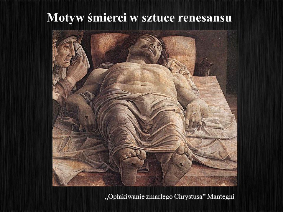 Motyw śmierci w sztuce renesansu