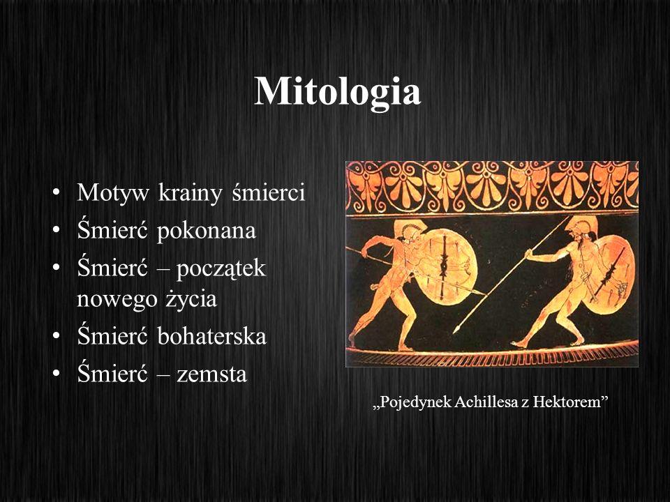 """""""Pojedynek Achillesa z Hektorem"""