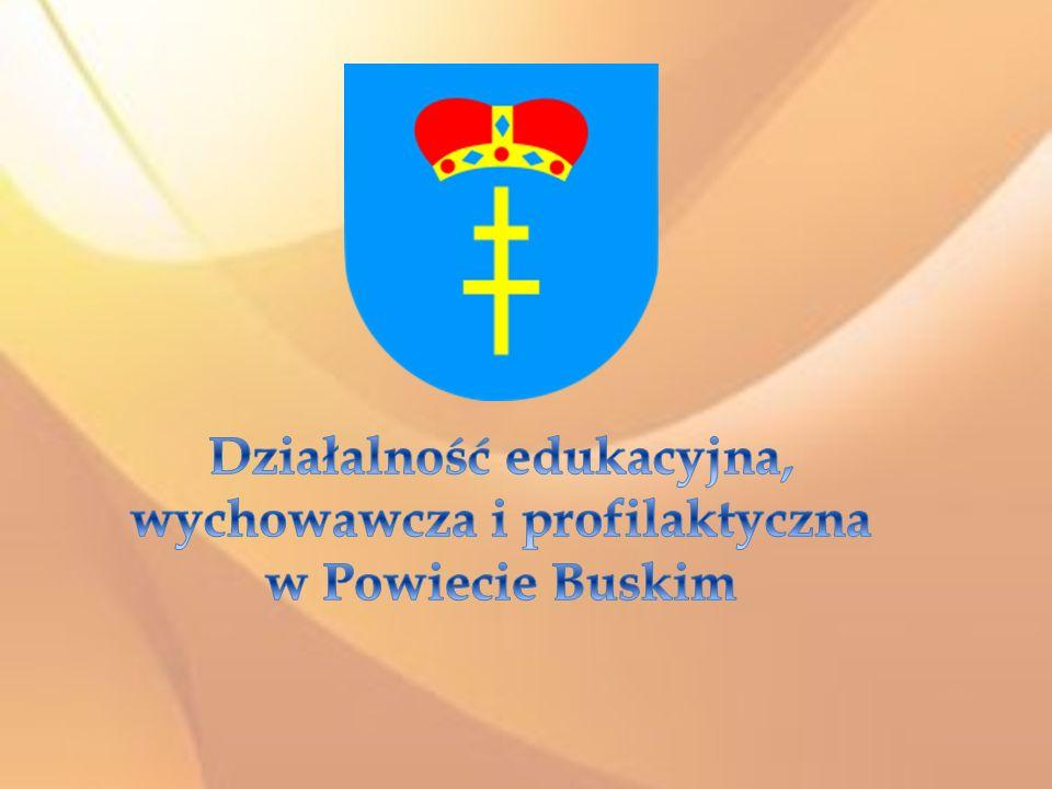 Działalność edukacyjna, wychowawcza i profilaktyczna w Powiecie Buskim