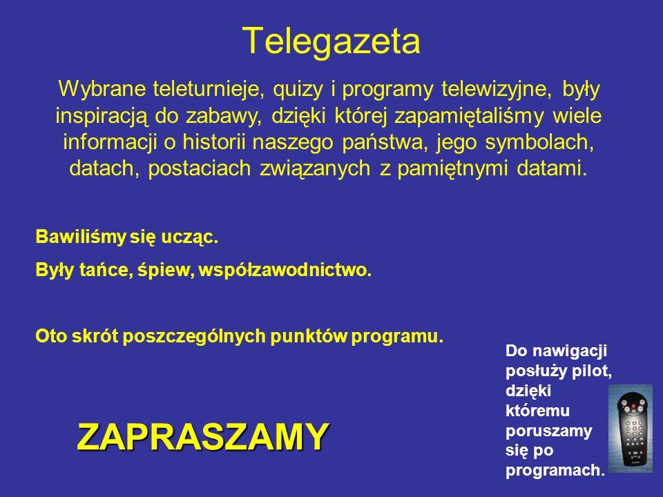 Telegazeta ZAPRASZAMY