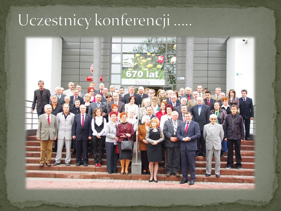 Uczestnicy konferencji …..
