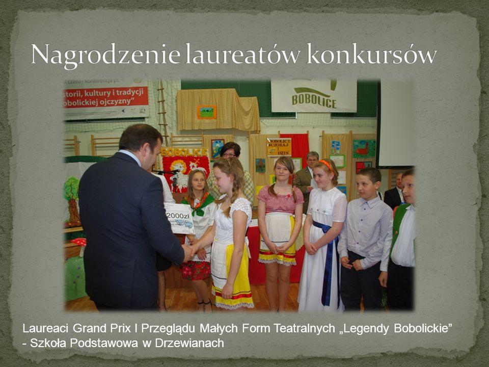 Nagrodzenie laureatów konkursów
