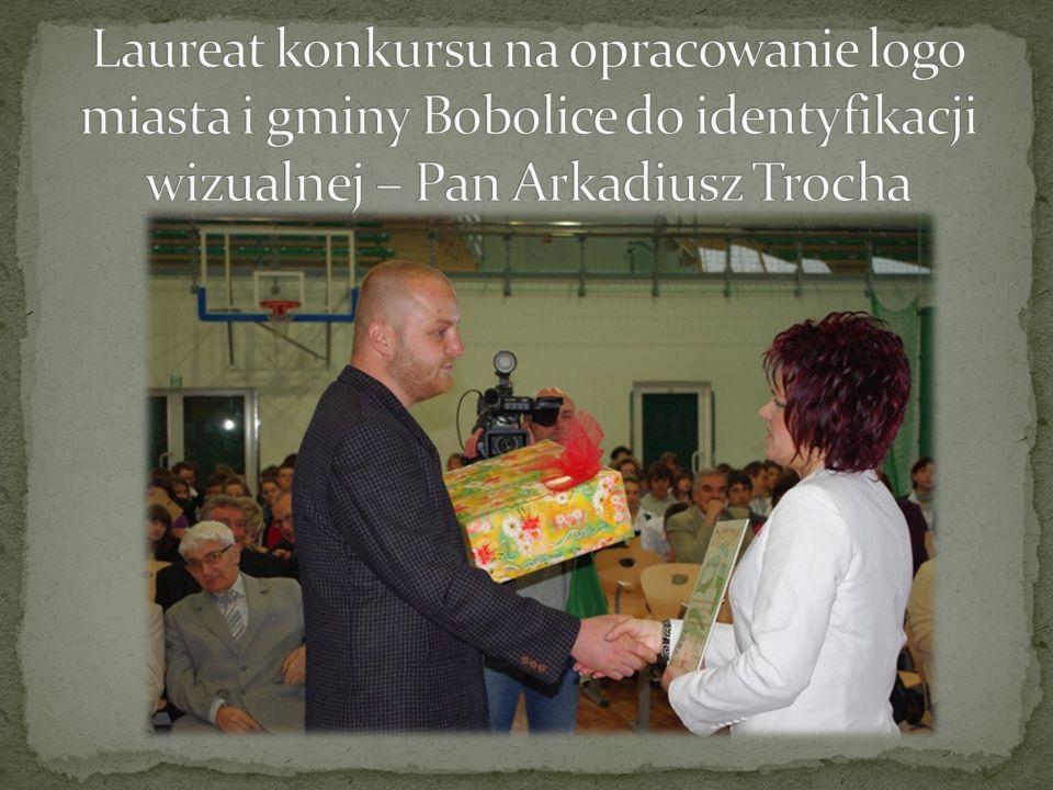 Laureat konkursu na opracowanie logo miasta i gminy Bobolice do identyfikacji wizualnej – Pan Arkadiusz Trocha