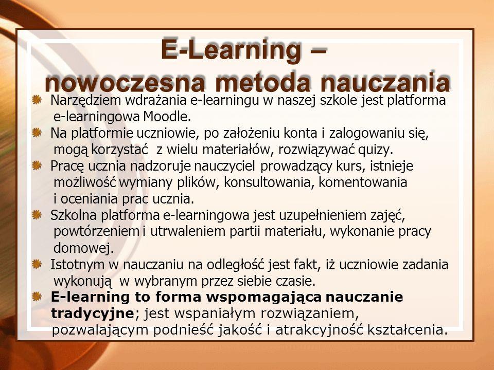 nowoczesna metoda nauczania