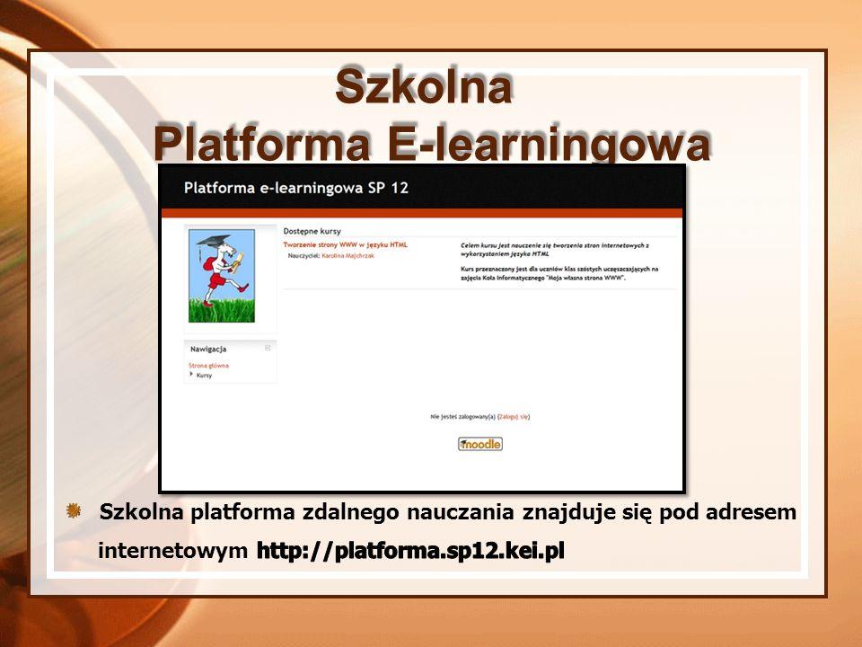 Platforma E-learningowa