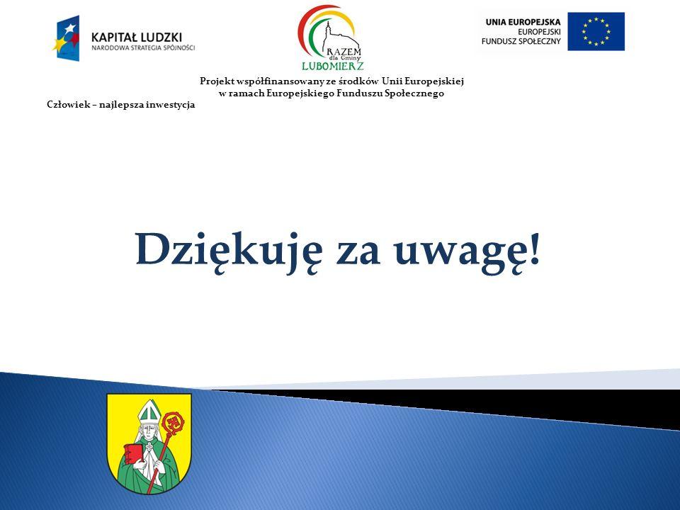 2010-07-12 Projekt współfinansowany ze środków Unii Europejskiej. w ramach Europejskiego Funduszu Społecznego.