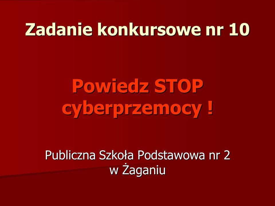 Powiedz STOP cyberprzemocy !