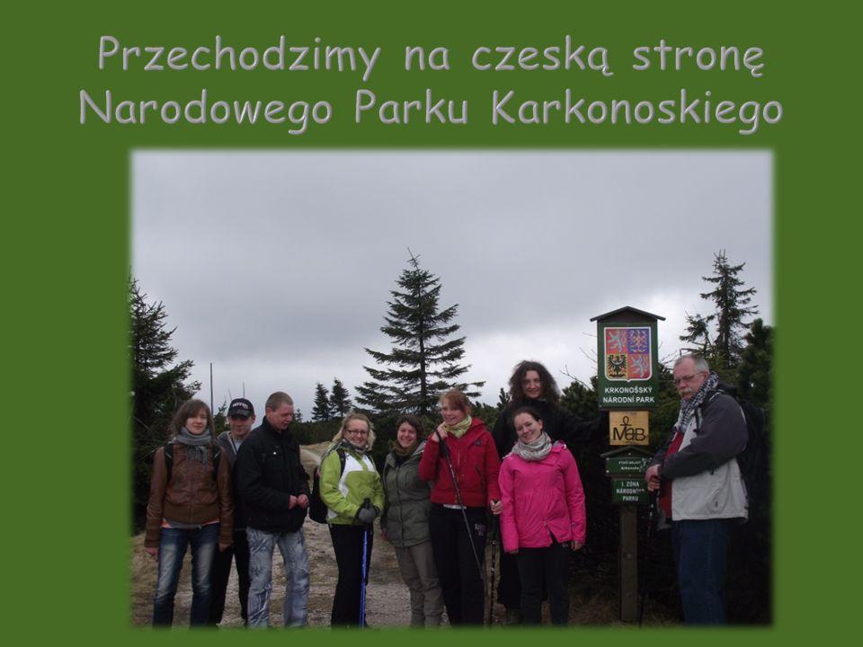 Przechodzimy na czeską stronę Narodowego Parku Karkonoskiego