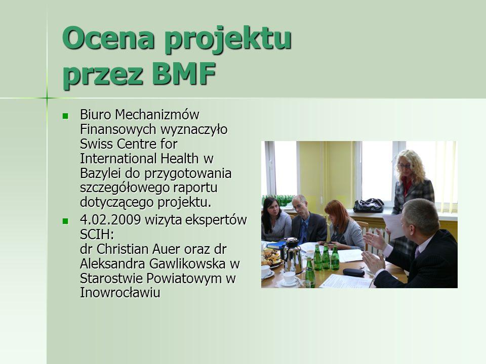 Ocena projektu przez BMF
