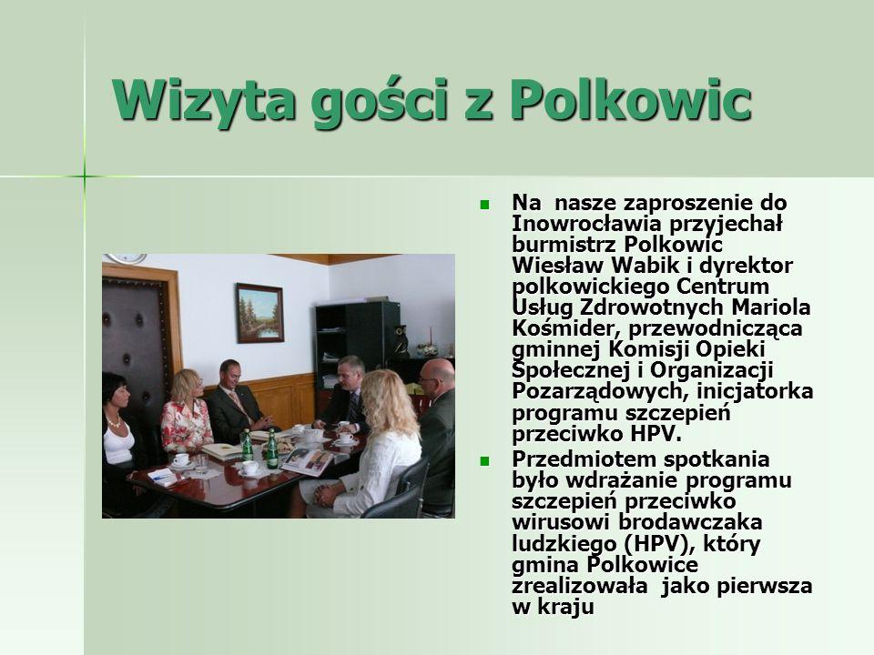 Wizyta gości z Polkowic