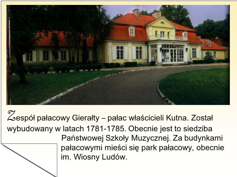 Zespół pałacowy Gierałty – pałac właścicieli Kutna