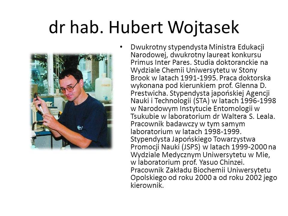 dr hab. Hubert Wojtasek