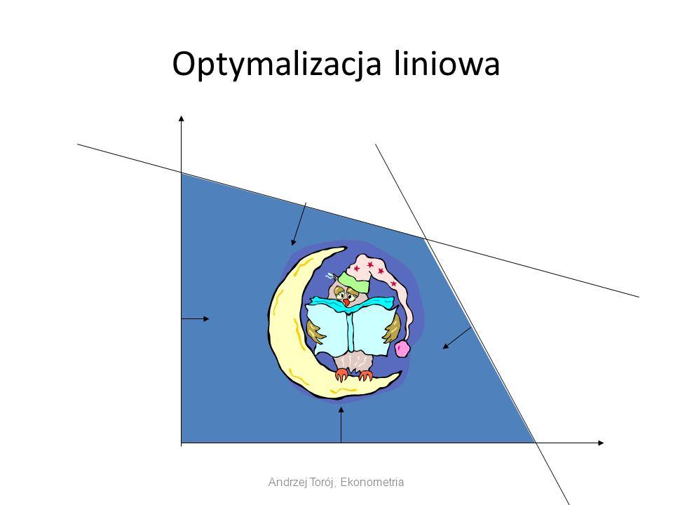 Optymalizacja liniowa