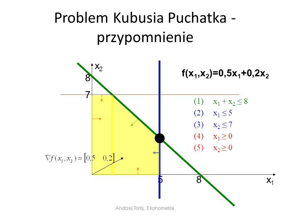 Problem Kubusia Puchatka - przypomnienie
