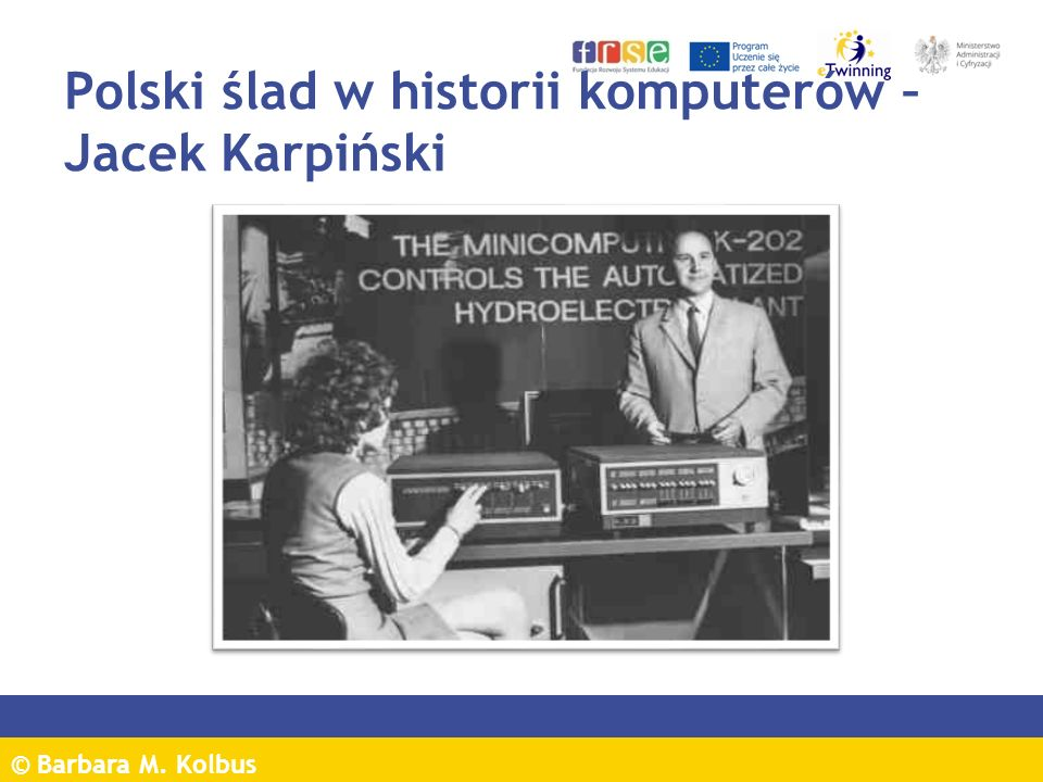 Polski ślad w historii komputerów – Jacek Karpiński