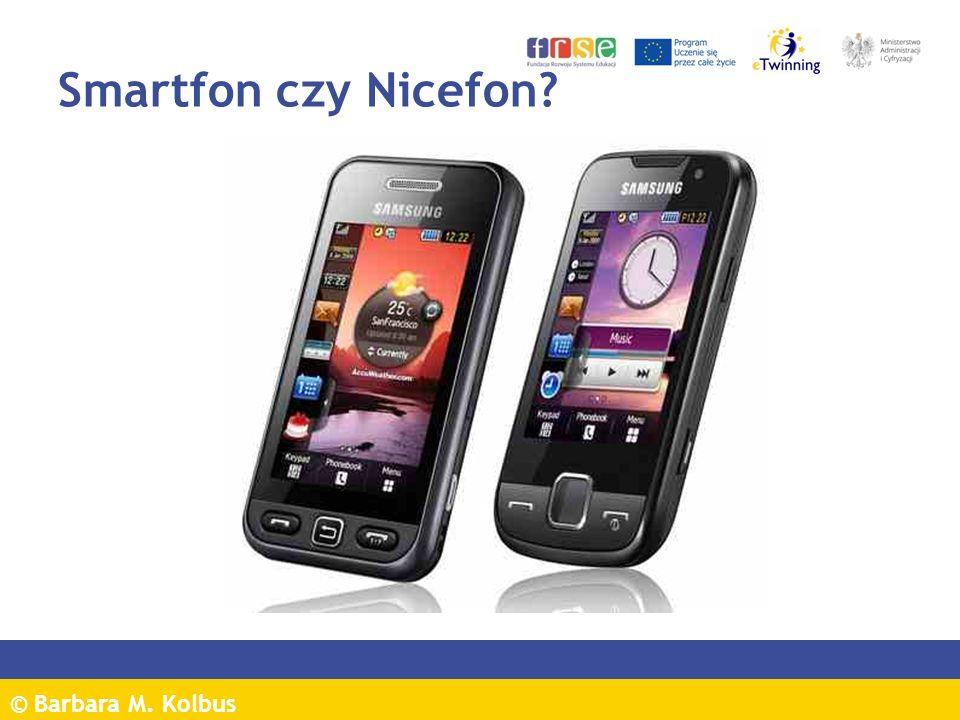 Smartfon czy Nicefon