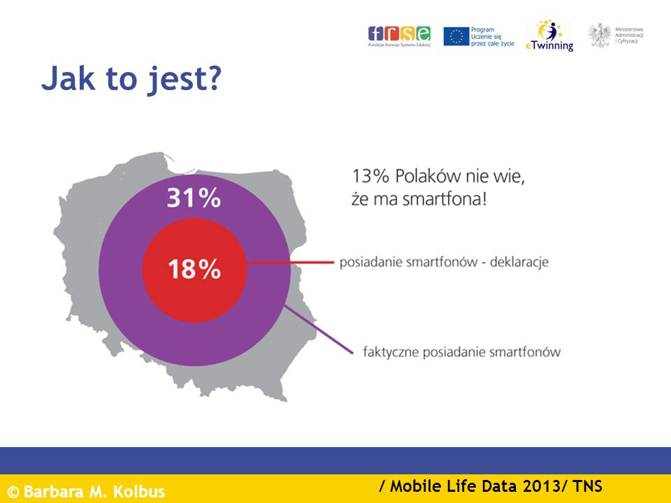 Jak to jest / Mobile Life Data 2013/ TNS