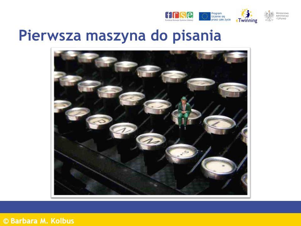 Pierwsza maszyna do pisania