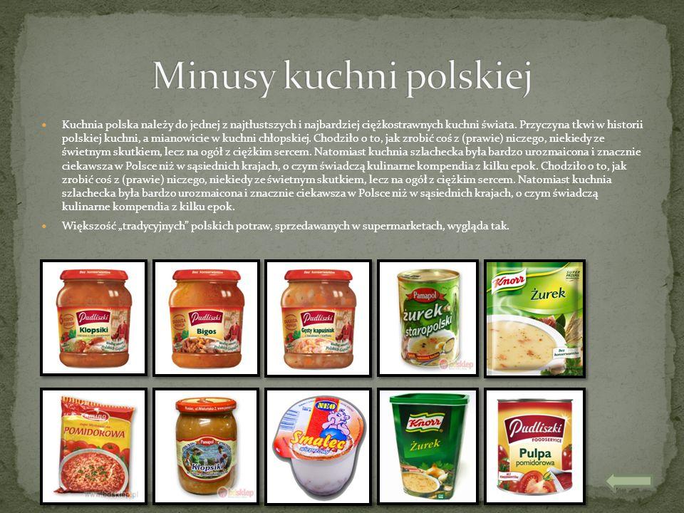 Minusy kuchni polskiej