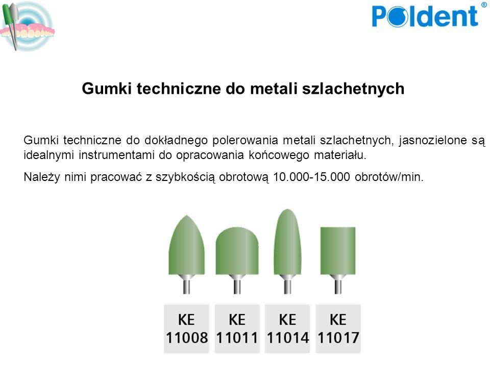 Gumki techniczne do metali szlachetnych