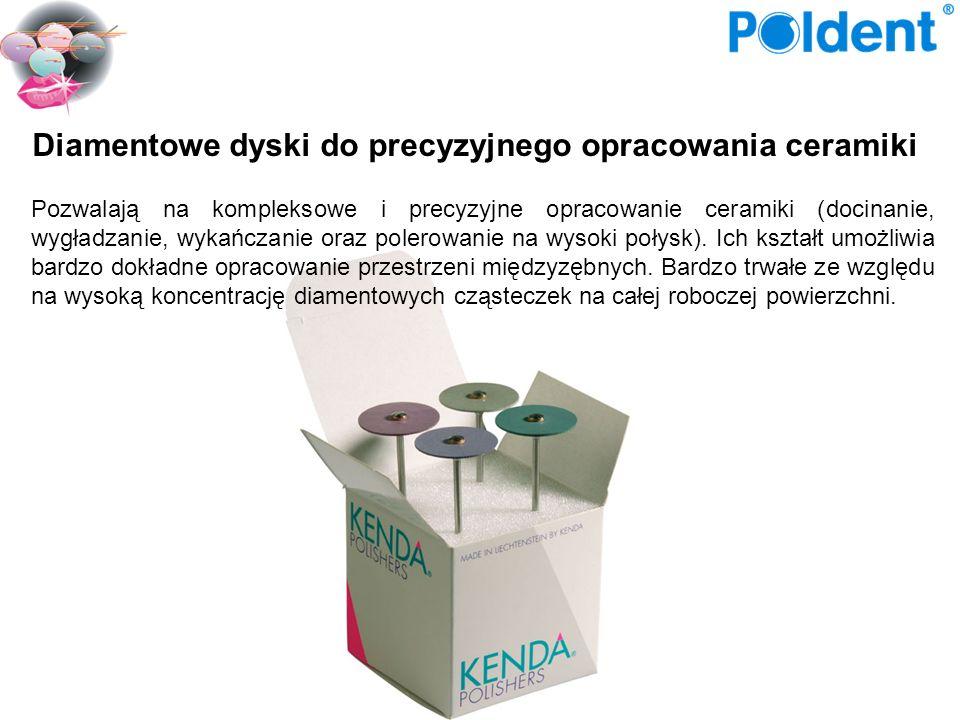 Diamentowe dyski do precyzyjnego opracowania ceramiki