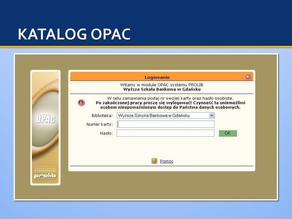 KATALOG OPAC