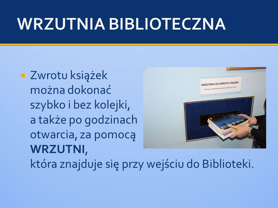 WRZUTNIA BIBLIOTECZNA