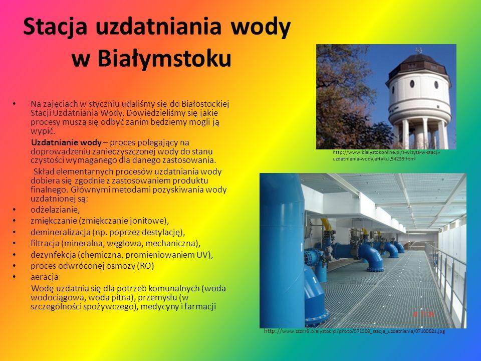 Stacja uzdatniania wody w Białymstoku