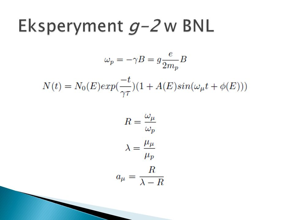 Eksperyment g-2 w BNL