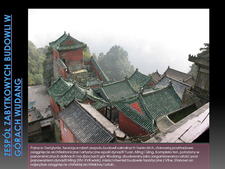 Zespół zabytkowych budowli w górach Wudang