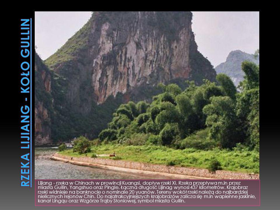 Rzeka Lijiang - koło Gullin