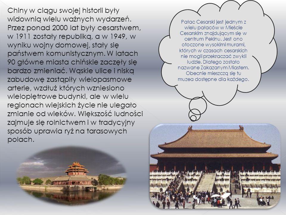 Pałac Cesarski jest jednym z wielu pałaców w Mieście Cesarskim znajdującym się w centrum Pekinu. Jest ono otoczone wysokimi murami, których w czasach cesarskich nie mogli przekraczać zwykli ludzie. Dlatego zostało nazwane Zakazanym Miastem. Obecnie mieszczą się tu muzea dostępne dla każdego.