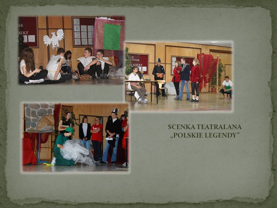 "SCENKA TEATRALANA ""POLSKIE LEGENDY"