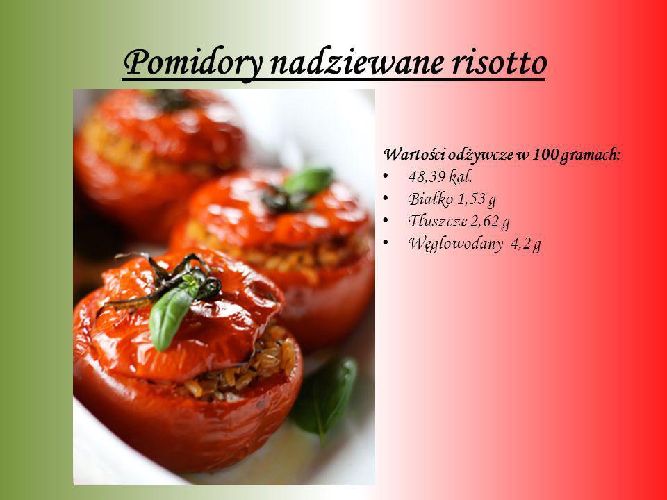 Pomidory nadziewane risotto