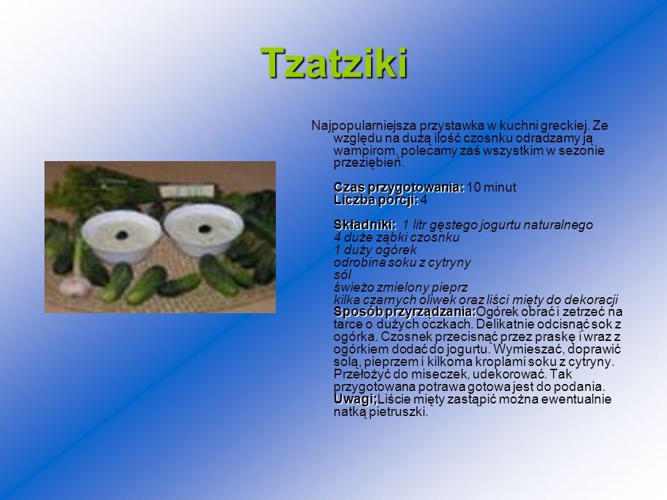 Tzatziki