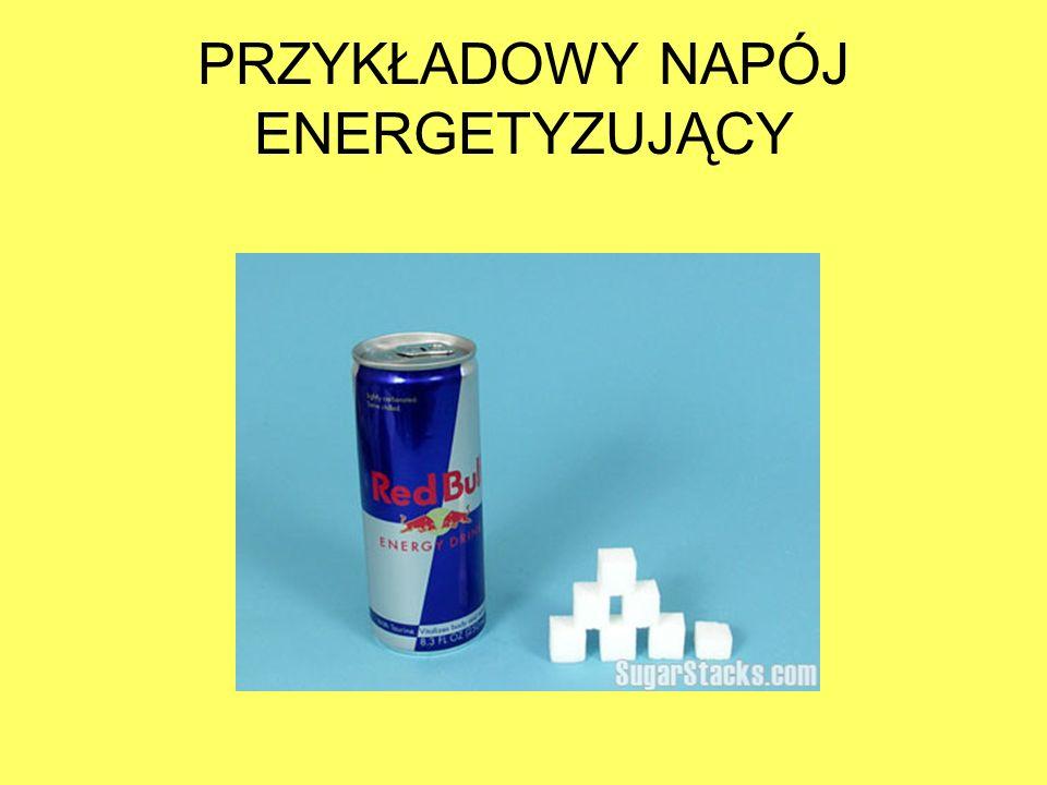 PRZYKŁADOWY NAPÓJ ENERGETYZUJĄCY