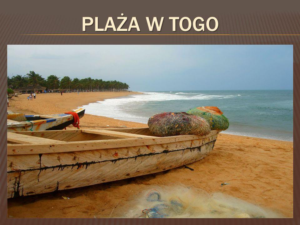 Plaża w Togo
