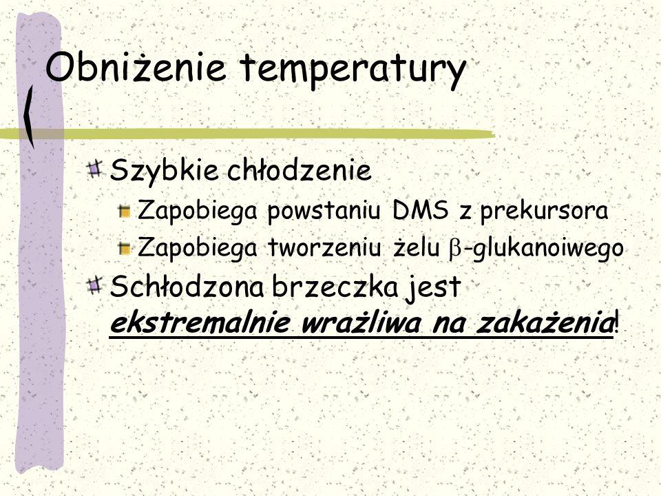 Obniżenie temperatury
