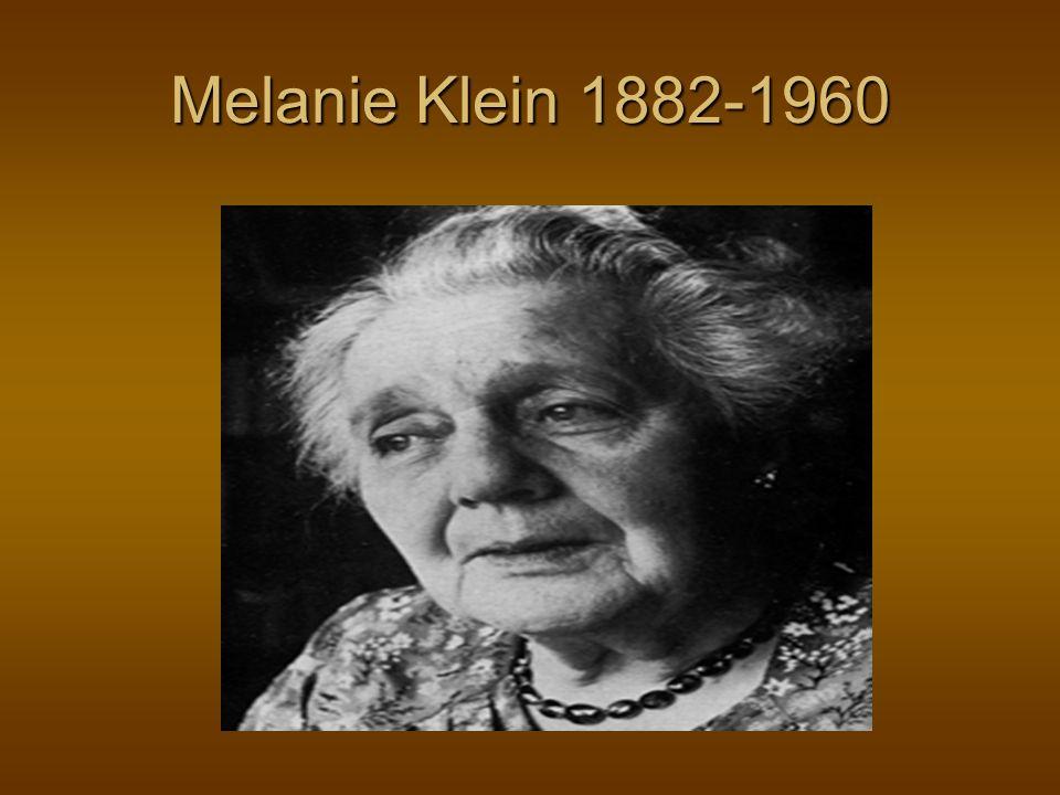 Melanie Klein 1882-1960