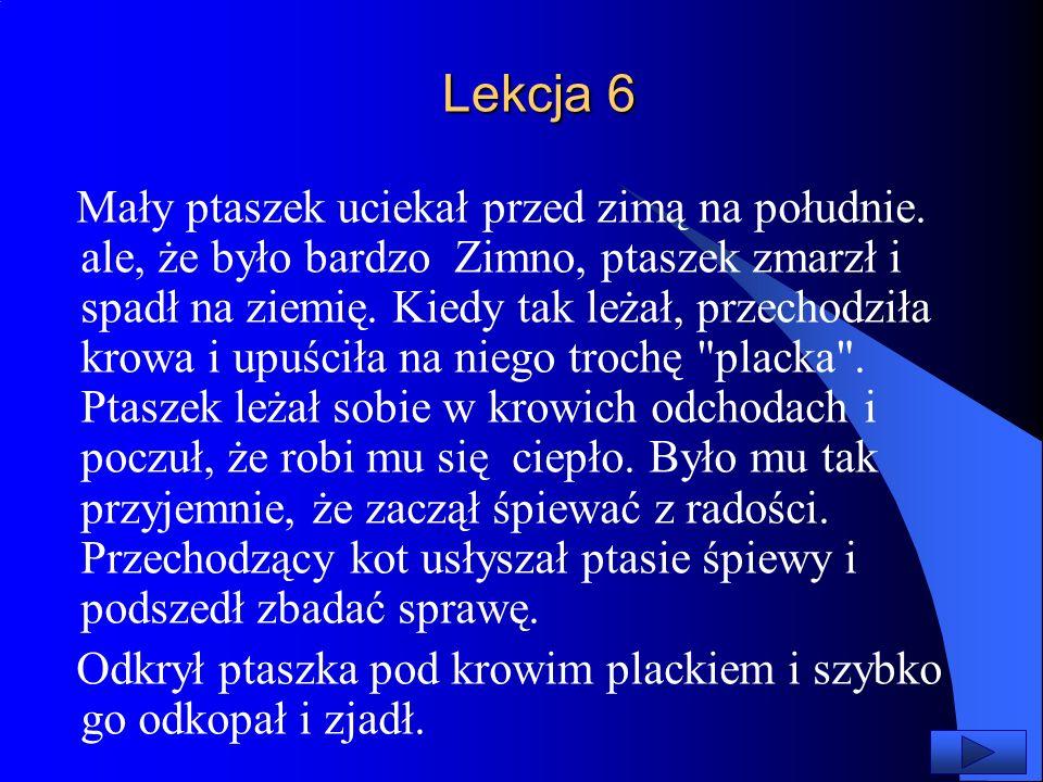 Lekcja 6